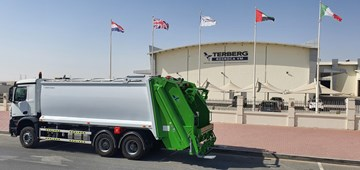 Terberg RosRoca VM produce their first vehicle...